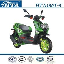 HTA Motorcycle-150cc Scooter-HTA150T-5 green