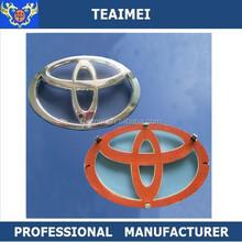Custom ABS metal chrome car logos badges emblem for Toyota