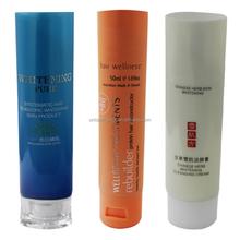 Plastic tube packaging for hair