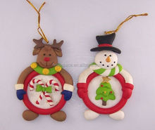 hot sale christmas polymer frame for home decoration