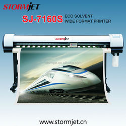 4 Color Digital Printer for SJ-7160S with Eco Solvent Ink