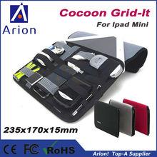 "2015 Newest for ipad mini 7"" Cocoon GRID-IT Case organizer bag"