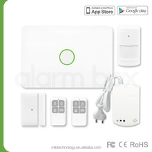 Promotion with big discount!! FCC CE RoHS certificated 868MHz gsm alarm systems Maibo S1 with detectors