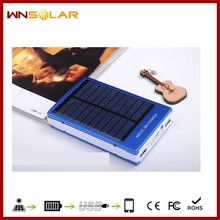 Hot 30000mAh dustproof ce rohs solar cell phone charger, dual USB solar panel charger, cell solar charger for hiking