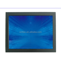 Hot Selling!! 12.1 inch usb powered touch screen monitor, open frame LCD monitor with VGA DVI port