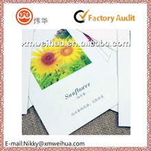 2015 Language of flowers paper postcard