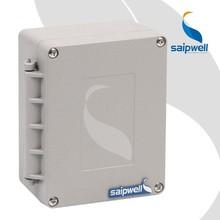Saipwell 115 * 90 * 60 mm profesional caja de conexione a prueba de agua venta al por mayor acústica de aluminio fundido