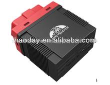 Obdii perseguidor del vehículo( 9- 40v)/base + gps real- tiempo de doble- posicionamiento, gps del coche perseguidor gps306