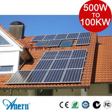 household 5KW solar system green energy products