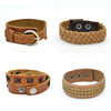 top grade hot magnetic leather bracelets