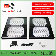 Full Spectrum Programmable LED Grow Light for Greenhouse Medical Plants 270* 320*110mm with Smart or Switch Version