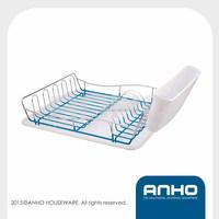 iron dinnerware holder, kitchen dish drying rack