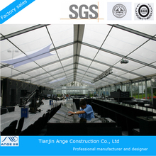 500 People Luxury Clear Roof Transparent Wedding Tents