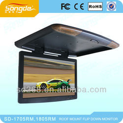 15'' 17'' 18'' 19'' tft car roof monitor with tv