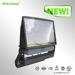 buy direct from china factory 125LM/W DLC UL CUL SAA CB TUV 500w led tennis court flood lights