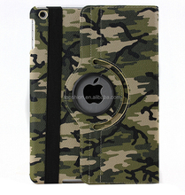 2015 New Arrival For IPAD AIR Flip Cover Case 360 Degree Rotating Leather Cover
