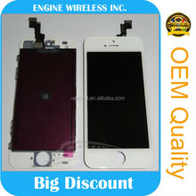 factory directly sale for iphone 5 LCD free sample free shipping