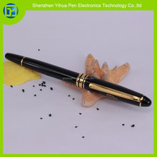YIHUA OEM/ODM metal gold switzerland tip roller pen,liquidly pen free ink roller,roller tip pen 0.5mm