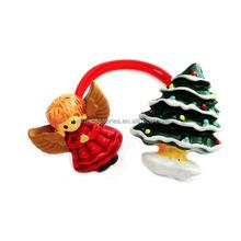 Wholesale Christmas gift- baby girls hair accessories of kids hair ties/ponytail holder
