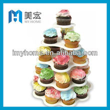 5-tier plastic cupcake stand,party decoration cupcake holder
