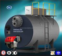 Vacuum hot water boiler type