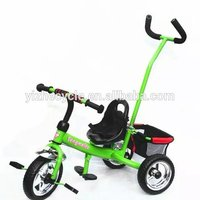 Kids tricycle with back seat Trike for mom and baby Cheap ride on toys