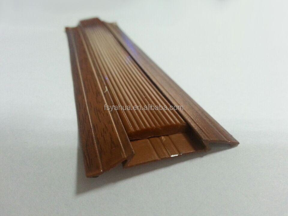 Wood grain laminate flooring transition strips buy floor for Wood floor transition strips