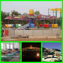 Outdoor entertainment rides rotating double flying Amusement Park Ride for sale