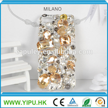 diamante completo caso de lujo para el iphone 5s caso de la perla