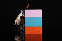 Colorful Leather Cover Case With Card Slot for Ipad Air