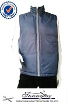 Sunnytex outdoor give away padded bodywarmer cheap navy vests