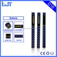2015 1ml hemp oil disposable e-cigarette empty,Crystal tip thc big vapor e cigarette,thick oil disposable e cigarette