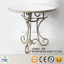 Mirrored Furniture Elegant Wire Coffee Table