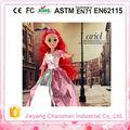 La princesa Elegent plástico muñeca con hermosos vestidos