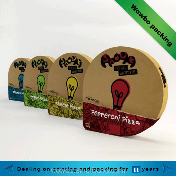 unique personalized round pizza packaging box buy pizza boxes for sale personalized pizza box. Black Bedroom Furniture Sets. Home Design Ideas
