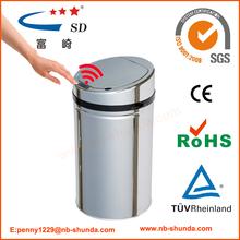 de usos múltiples papelera de reciclaje de plástico de vid de uva de energía de la rueda de camión de basura