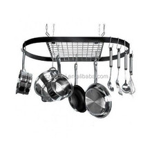Kitchen Storage Hanging Pot Holder Pan Hanger Cookware Hook Rack