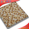 Newest design color mixing ice cracking red tiles mosaic art for sale