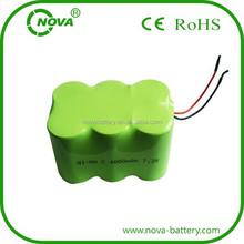 nimh c 4000mah 7.2v rechargeable 7.2v 4000mah ni mh battery pack