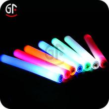 decoración de la boda de luz multicolor intermitente palo de espuma