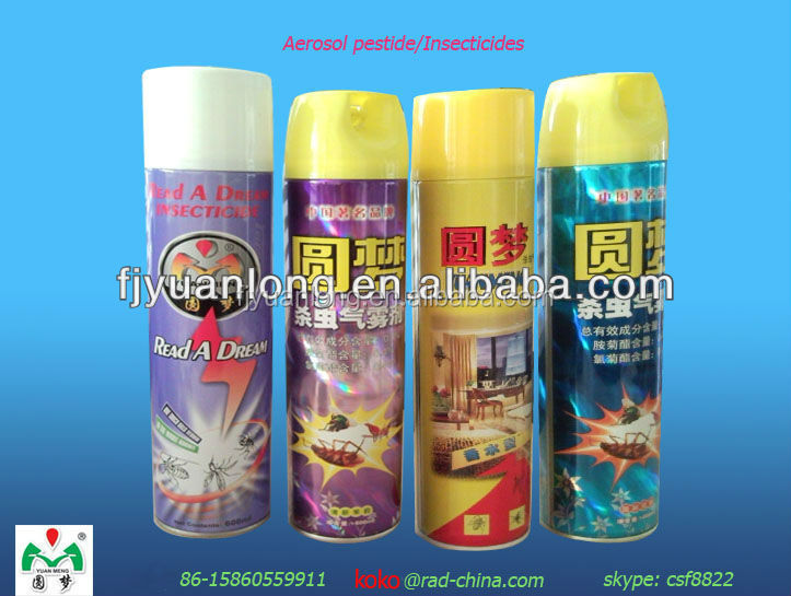 HOUSEHOLD AEROSOL INSECTICIDE SPRAYER