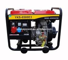Generador 5kw a diésel trifásico con inicio eléctrico de china