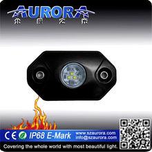AURORA car interior 2inch led rock light led truck lights