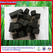 2.5*2.5*2.5cm with 1.5hours burning time coco cubes coal