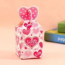 Handmade decorative paper birthday candy box