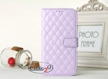 Samsung Galaxy S4 Padded Leather Flip Case