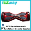 Iezway Smart electric standing scooter 2 wheel self balance Hover board for adults with bluetooth