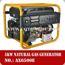 Honda style power 5kw 12v dc electric gasoline generator