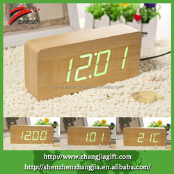 2015 Oblong Decorative Table Woody Clock
