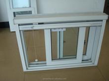 High quality cheap price pvc glass window upvc sliding window made in china